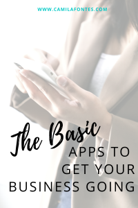 the basic apps to get your business going