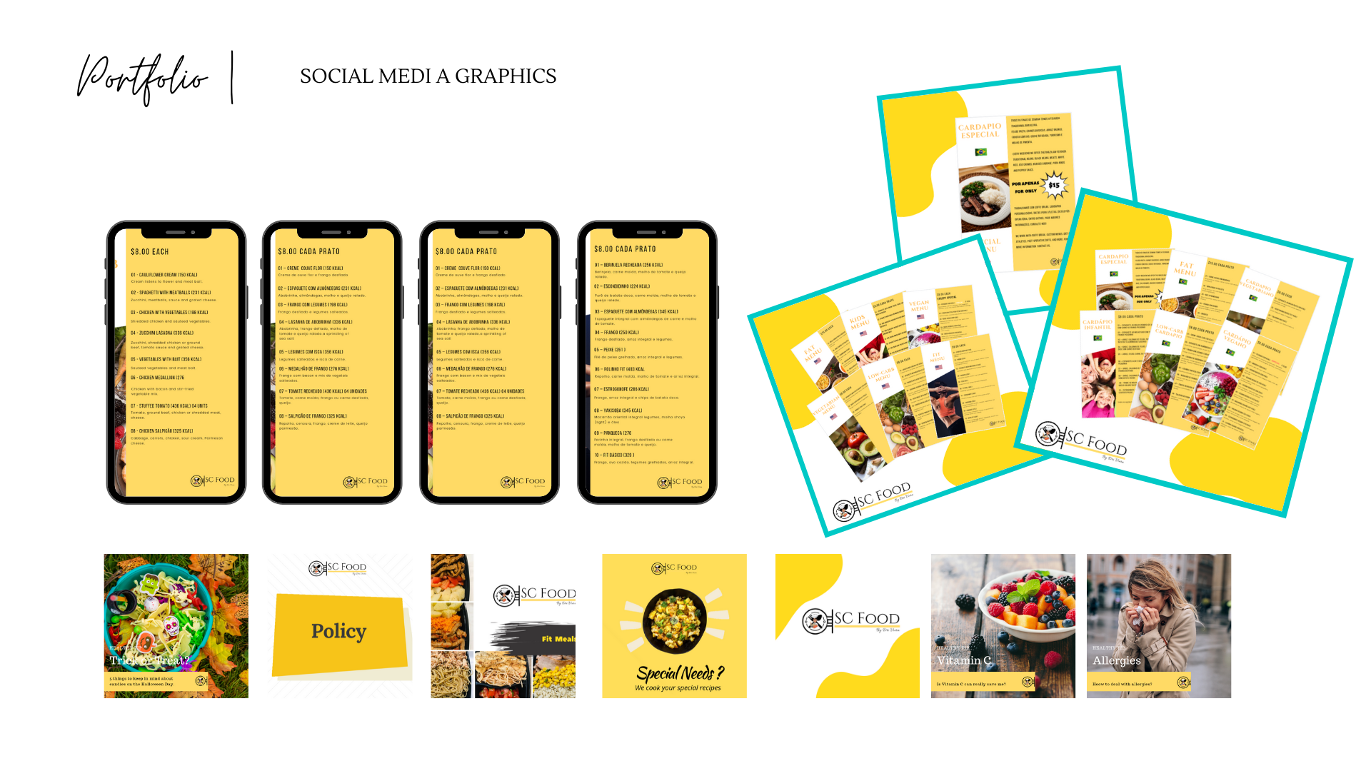 Food Industry Client Sample - Content Designs