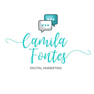 Camila Fontes digital marketing logo